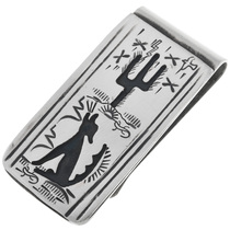 Desert Coyote Money Clip 32830