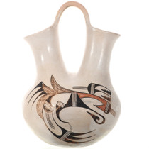 Vintage Hopi Polychrome Wedding Vase 32832
