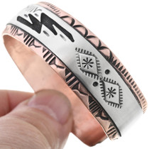 Native American Animal Storyteller Cuff 32839