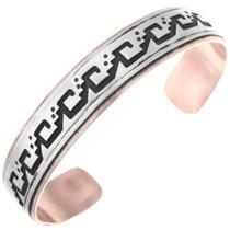 Rain Pattern Copper Bracelet 32844