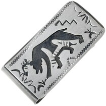 Navajo Bear Money Clip 32849
