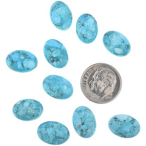 Bird's Eye Blue Turquoise Cabochons 32720