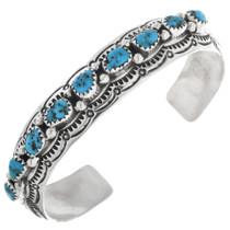 Navajo Turquoise Cuff Bracelet 32866