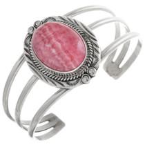 Vintage Navajo Rhodochrosite Ladies Bracelet 32874