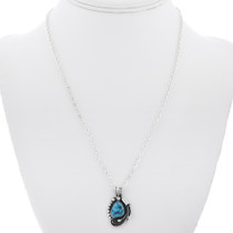 Sterling Silver Turquoise Pendant 32880