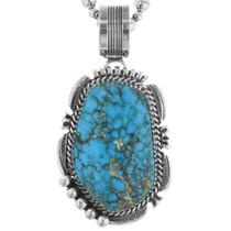 Kingman Turquoise Navajo Pendant 32881