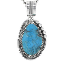 Turquoise Silver Pendant 32885