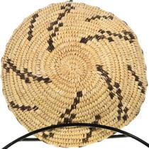 Vintage Papago Pima Hand Woven Basket 32726