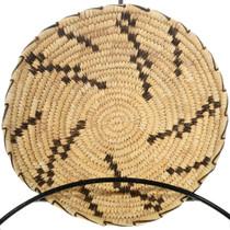 Pima Tribe Basket Coyote Tracks Design 32726