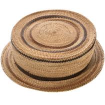 Antique Hupa Tribe Basket Hat 32901