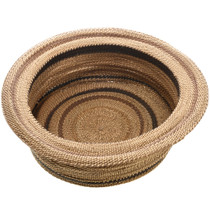 Hand Woven California Indian Basket 32901