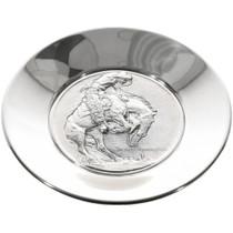 Vintage Sterling Silver Remington Plate 32902
