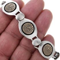 Gold Man in the Maze Bracelet 32906