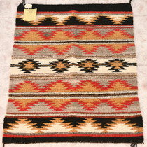 Vintage Navajo Made Wool Rug 32921