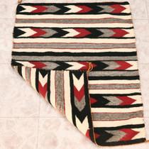 Banded Arrows Design Hand Woven Rug 32939