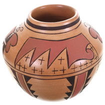 Hopi Tribe Pottery Moth Water Pattern 32953