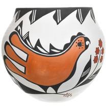 Acoma Parrot Olla Pottery 32971