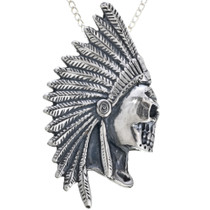 Antiqued Sterling Silver Pendant 32973