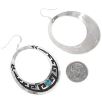 Tommy Singer Hand Made Silver Earrings 32978