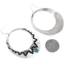 Tommy Singer Silver Overlay Earrings 32979