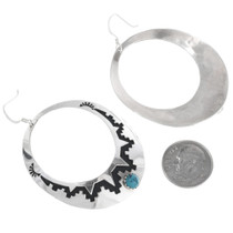 Tommy Singer Silver Overlay Earrings 32979