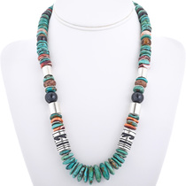 Turquoise Beaded Necklace 32993