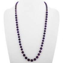 Amethyst Gold Navajo Necklace 32995