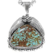 Navajo Turquoise Pendant 33000