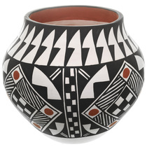 Acoma Polychrome Pottery 33012