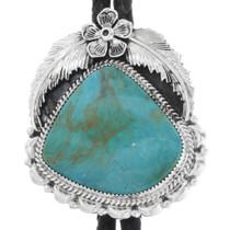 Native American Turquoise Bolo Tie 33016