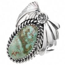 Royston Turquoise Navajo Rings 33019