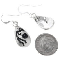 Sterling Silver Kokopelli Earrings 33025