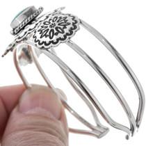 Sterling Silver Navajo Cuff Bracelet 33034