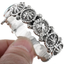 Ladie Silver Starburst Bracelets 33041