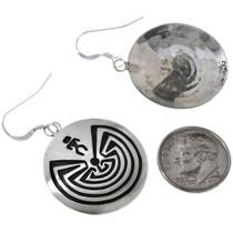 Silver Dangle Earrings 33062