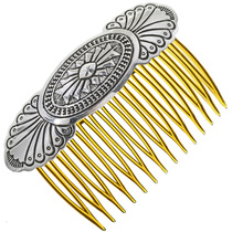 Navajo Sterling Hair Comb