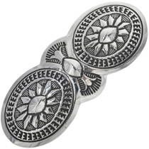 Native American Sterling Silver Hair Barrette 33086