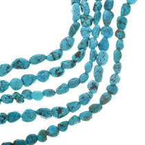 Genuine Turquoise Nugget Beads 31957
