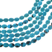 Real Turquoise Oval Beads 31960