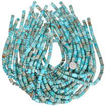 Turquoise Jasper Pattern Bead Strand 31961