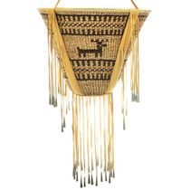 Large Apache Indian Burden Basket 33096