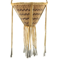 Hand Woven Apache Burden Basket 33100