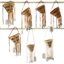 Small Hand Woven Apache Burden Baskets 33101