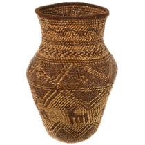 Large Apache Hand Woven Basket