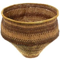 Hand Woven Apache Basket 33110