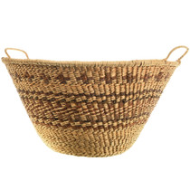 Large Authentic 20th Century Apache Basket 33111