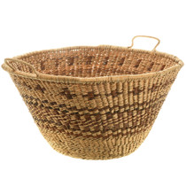 Hand Woven Apache Basket with Handles 33111