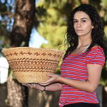 Vintage Apache Gathering Basket 33111