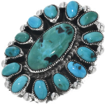 Vintage Sleeping Beauty Turquoise Ring 33118