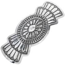 Navajo Sterling Silver Hair Barrette 33120